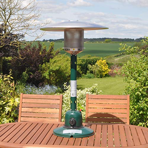 Kingfisher PH300 Garden Outdoor Table Top Patio Heater - Multi-Colour