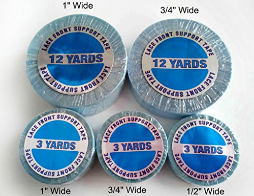 Walker Tape Lace Front Support Tape Roll 3/4 inch 12 Yards