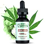 Best Hemp Oil Extract - 28,350MG - Organic Hemp Oil For Pain Relief- Hemp Extract Oil - Mood Support - Pure Hemp Oil For Anxiety Support - Hemp Oil Drops - 1000mg Hemp Isolate - HEMP ORGANICS