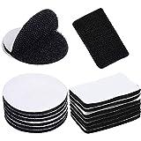 50 Piezas De Cinta De Velcro, Cinta Autoadhesiva, Cinta De Velcro De Doble Cara, Apta Para Paredes, Suelos, Puertas y Ventanas