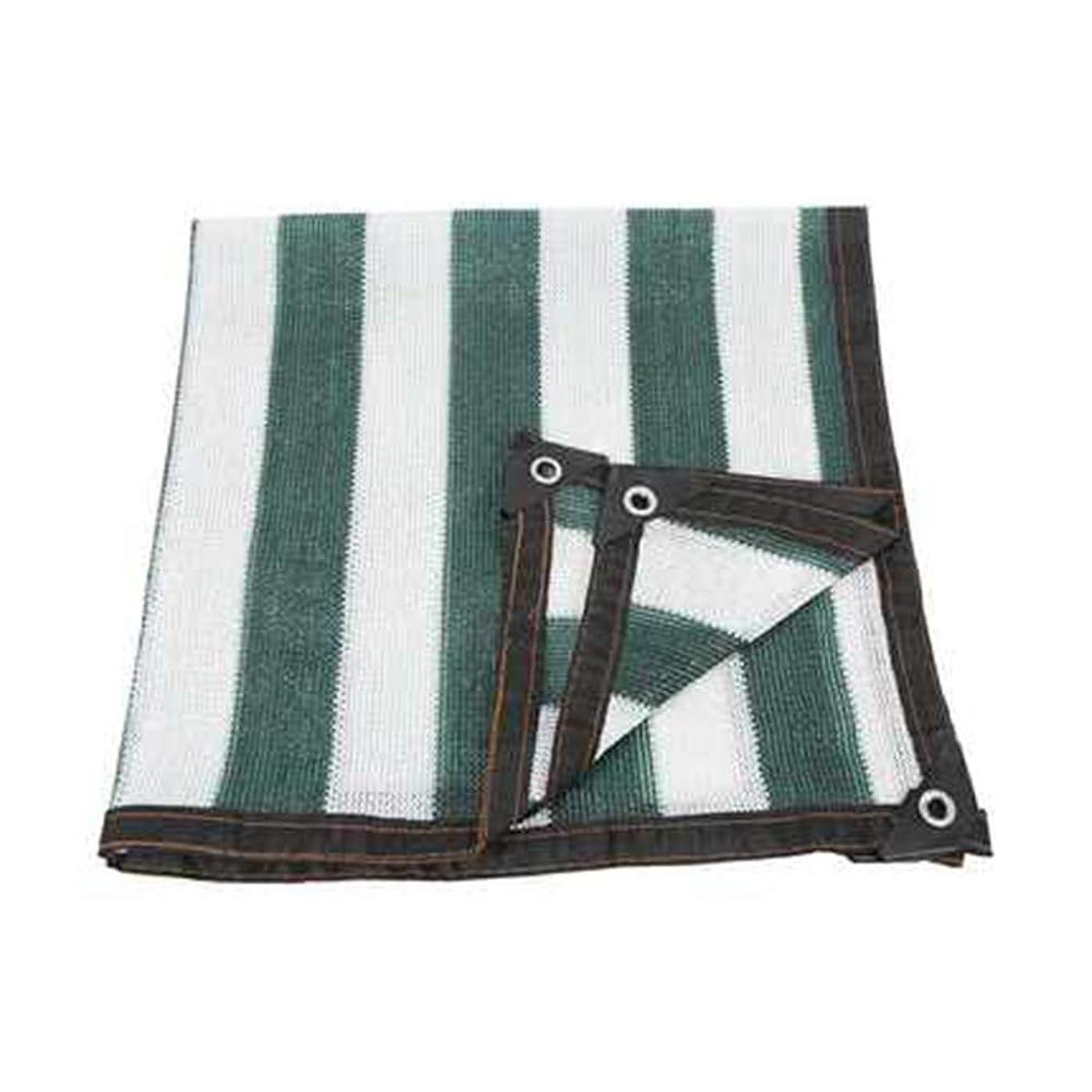 キー険しい羊飼い遮光布 遮光ネット ポリエチレン 6ピン密度 のために適した パーティー/庭/温室,green+white,10*10m