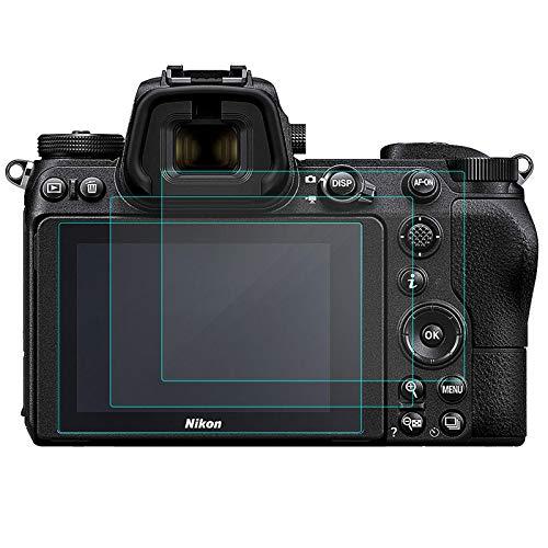 KIMILAR Schutzfolie Kompatibel mit Nikon Z6 Z7 Panzerglas, (3 Stück) Bildschirmschutz Gehärtetem Glas Folie für Nikon Z6 Z7 Mirrorless Digital Camera, Blase-Free 9H Festigkeit Kristallklare
