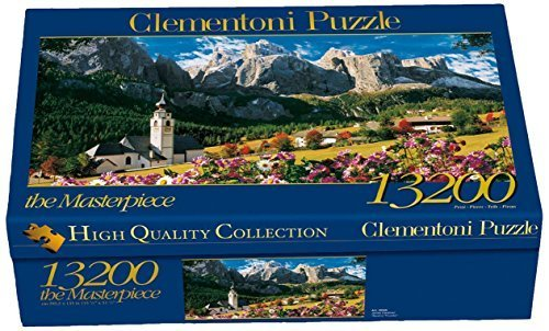 Clementoni 38007.7 Sellagruppe / Dolomiti Jigsaw Puzzle, 13,200 Pieces by Clementoni
