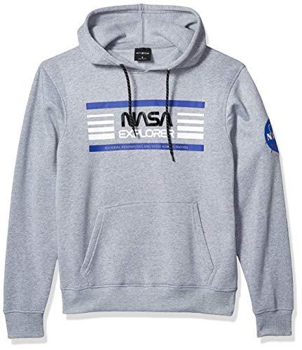 WT02 Men's NASA Collection Fleece Hooded Sweatshirt (Pullover, Fullzip),...