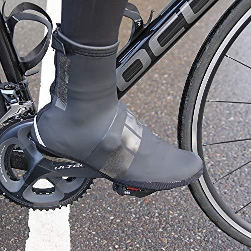 BBB Cycling Fahrrad, Mountainbike Schuhüberzug Überschuhe Hardwear, BWS-04, Schwarz, 37/38 - 2