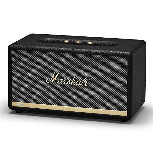 Marshall Stanmore II Voice 80 W Altavoz Portátil Estéreo Negro - Altavoces Portátiles (2.0 Canales, 80 W, 50-20000 Hz, 101 dB, Inalámbrico y alámbrico, 2.4-5 GHz), EU