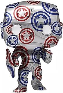 Funko Pop! Artist Series: Patriotic Age - Captain America (Exc), Action Figures - 56152
