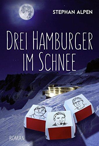 Drei Hamburger im Schnee