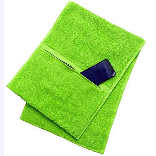Toalla de gimnasio Nimsay Home Luxury 100% algodón 600gsm - Verde