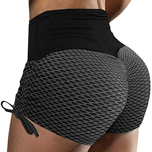 Atezch Women's High Waisted Booty Y…