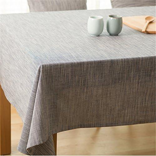 BlauLSS Pastorale Stil Bettw he Baumwolle Farbe Weißachten Rechteck Nappe Tischdecke Tischdecke Tischdecke Home Decor 130 x 220cm