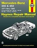 Mercedes-Benz 350 & 450 (71 - 80) (USA service & repair manuals)