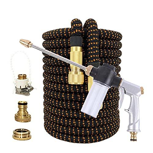 Release Tuin water gun slang mondstuk mutifunctionele huishoudelijke auto wasplaats water spuitbuis buisjespuitpijp strooi gereedschap (Size : 50ft)