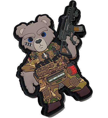 TEDDY Teddybär HIWEZ Bär Bundeswehr Soldat Armee Heer Multitarn Patch
