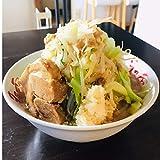 濃厚豊潤とんこつラーメン(2食)(極厚神豚1枚付き)大分まるしげ 二郎系 冷食