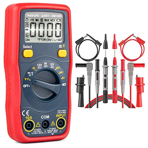 AstroAI Digital Multimeter & Test Leads Bundle