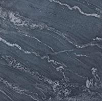 インドの天然御影石 ストリームグレー 本磨き 40cmX40cmX1,3cm 6.2㎏