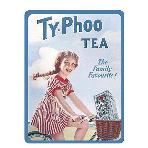 Metal Sign Typhoo Tea A4 12 x 8 aluminio