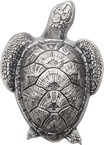 Power Coin SEA Turtle Shaped Silber Münze 10  Palau 2017