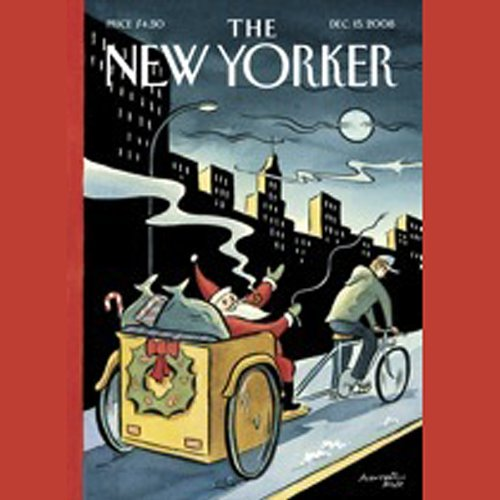 The New Yorker, December 15th, 2008 (David Samuels, Malcolm Gladwell, Larry Doyle) cover art