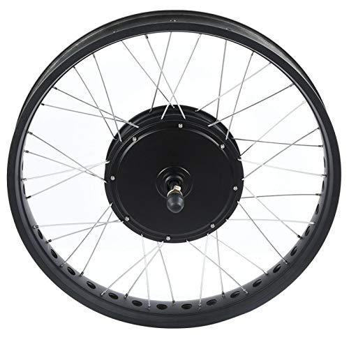 DAUERHAFT Kit di conversione Bicicletta elettrica 72V 3000W Motore Kit Motore per Bici elettrica di Alta qualità, con Leve Freno(Backdrive)