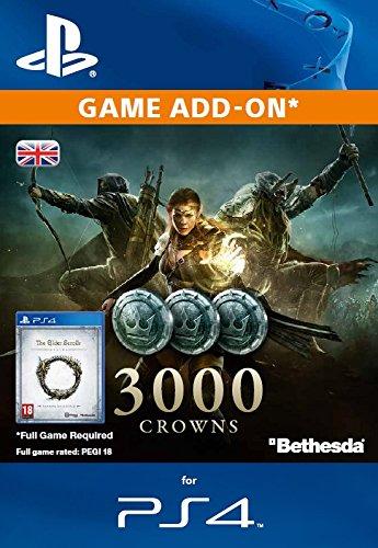 Elder Scrolls Online: 3000 Crowns  [PS4 PSN Code - UK account]