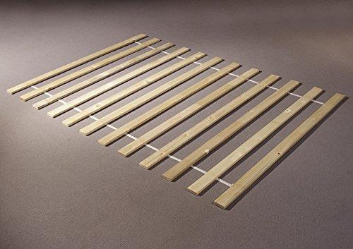 deine-tante-emma Lattenrost Rollrost Rost Lattenrahmen 140 x 200 cm gerollt
