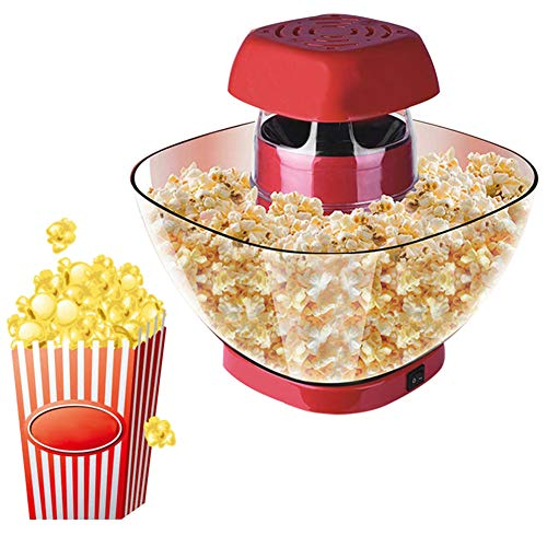 Best Review Of HRRH Household Mini Automatic Popcorn Machine, 500W 220V Popcorn Maker DIY Corn Machi...