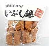 鹿島米菓 手揚もちいぶし銀ドラ付醤油170g