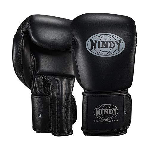 WINDY Proline Leder-Boxhandschuhe, Muay Thai, Sparring, 340 g, 450 g, Sport & Outdoor, 454 g