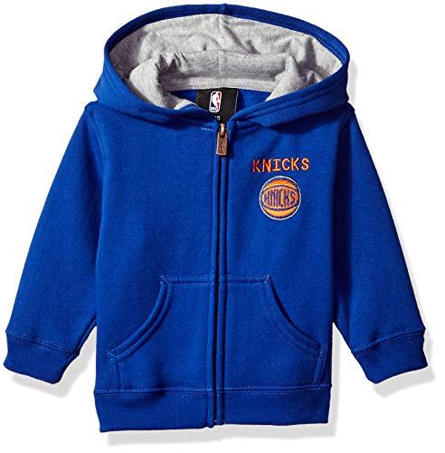 NBA by Outerstuff NBA Infant New York Knicks Pledge Full Zip Hoodie, Blue, 18 Months