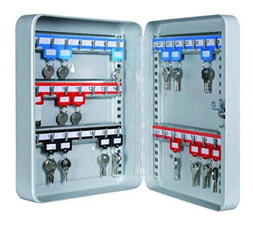 Format Schlüsselbox SK35 - mit 35 Schlüsselhaken - zur Wandmontage geeignet - Lichtgrau (RAL 7035)