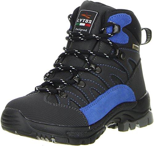 LYTOS Kinder Wanderschuhe Trekkingschuhe blau, Größe:38, Farbe:Blau