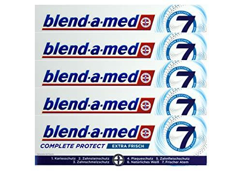 5x Blend-a-med Complete Protect 7 Zahncreme Extra Frisch 75ml Zahnpasta Neu & OVP
