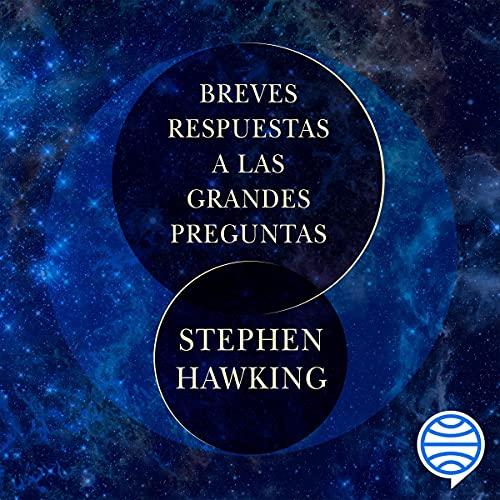 Diseño de la portada del título Breves respuestas a las grandes preguntas