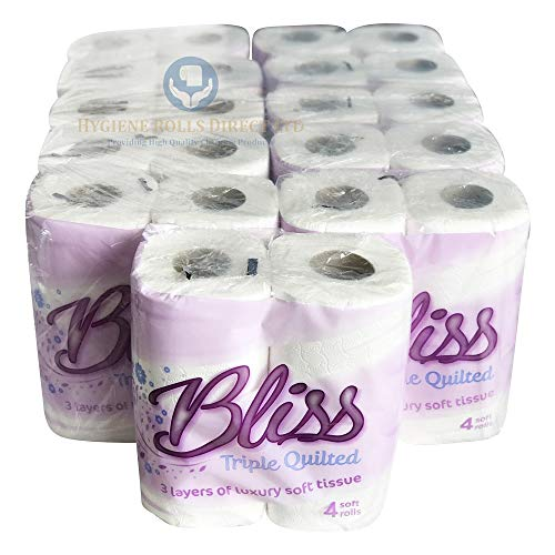Bliss Triple Quilted Luxury Toilet Tissue Roll 10 x 4 pack