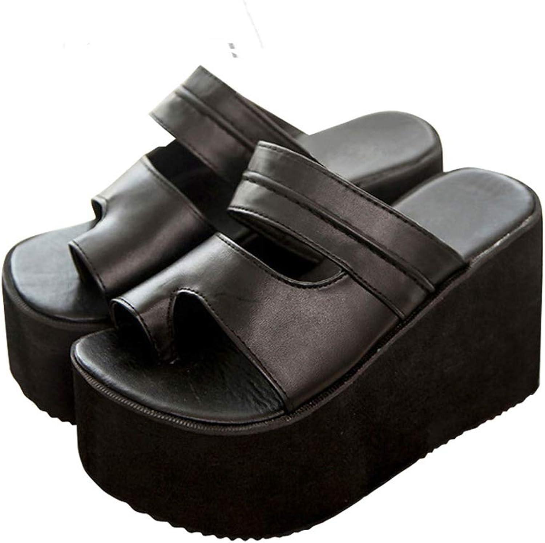 Zarbrina Women Flip Flops Sandal Ultra High Heel Footwear Summer Slides Platform Wedges shoes Comfortable Non-Slip Rubber Sole