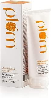 Plum Chamomile and White Tea Brighten Up Face Scrub, 75ml
