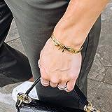 Personalized Arabic Bangle - Arabic Name Bracelet - Gold Arabic Jewelry - Custom Arabic Cuff Bracelet - Women Islamic Jewelry Gift Wife