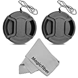 Best Camera Lens Caps - (2-Pack) 58mm Snap-On Center Pinch Lens Cap Review
