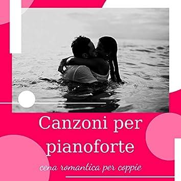 Canzoni per pianoforte: cena romantica per coppie