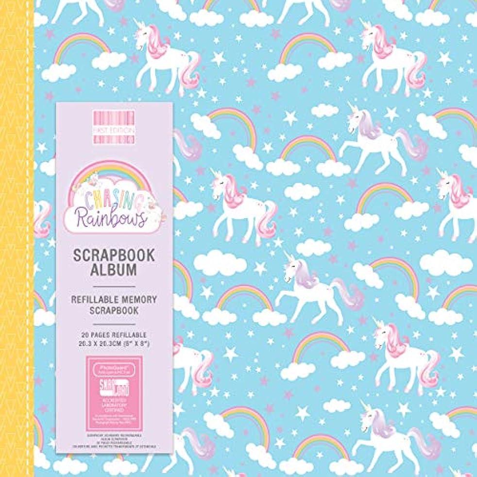 First Edition Chasing Rainbows Scrapbook Album 8