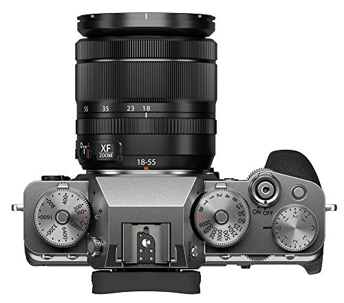Fujifilm X-T4 Mirrorless Digital Camera XF18-55mm Lens Kit - Silver