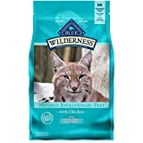 Blue Buffalo Wilderness High Protein, Natural Adult Indoor Hairball Control Dry Cat Food, Chicken 5-lb