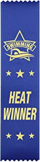 Heat Winner Swimming Award Ribbons - 50 Count Bundle – Made in The USA