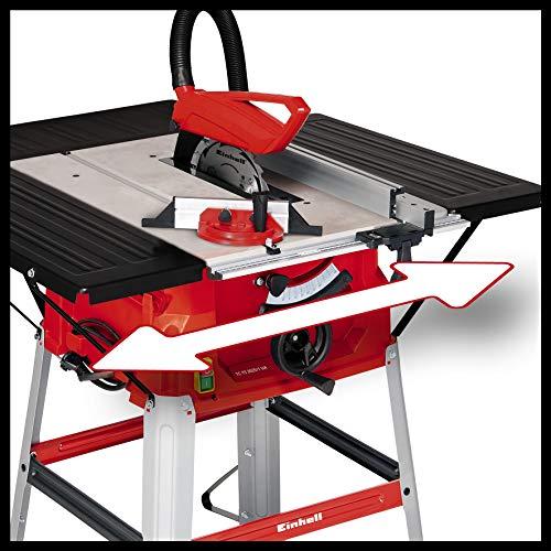 Einhell Tischkreissäge TC-TS 2025/1 UA (1800 W, Sägeblatt Ø250 x Ø30 mm, max. Schnitthöhe 85 mm, Tischgröße 642 x 487 mm) - 6