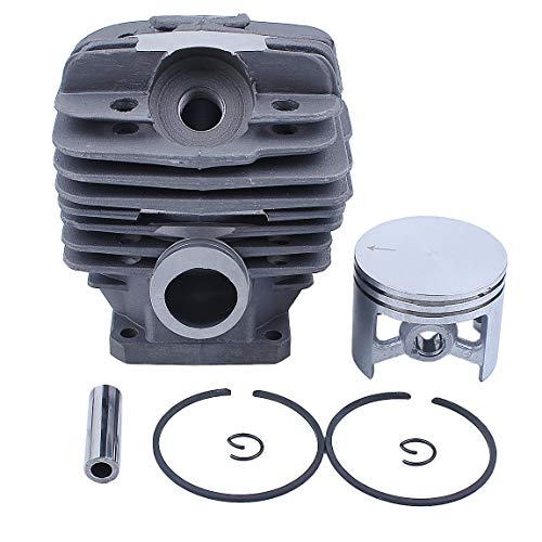 Haishine Juego de pistones de Cilindro de 48 mm para STIHL MS360 MS340 036 034 MS 340 360 Piezas del Motor del Motor de Motosierra # 11250201206