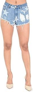 G-Style USA American Bazi Women's Cute Cutoff Denim Jean Short Shorts