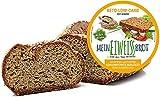 Pan Keto Low Carb - Página de 350 gramos proteica Paleo Atkins Diet 5,7 gr Carbohidratos para 100...