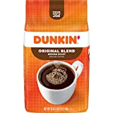 Dunkin' Original Blend Medium Roast Ground Coffee, 20 Ounces (Pack of 6) (Packaging May Vary)